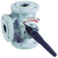 Honeywell 3-way flange mixer Centra-DR GG 20 grey PN 6 straight DN 65 DR65GFLA  DR65GFLA