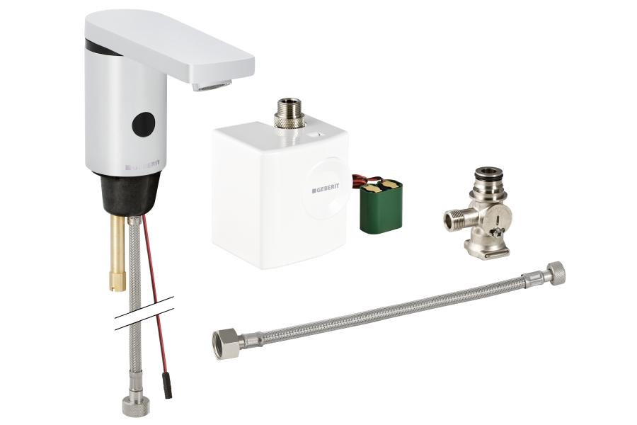 Geberit HyTronic 186 basin fixture infrared Generator with mixer